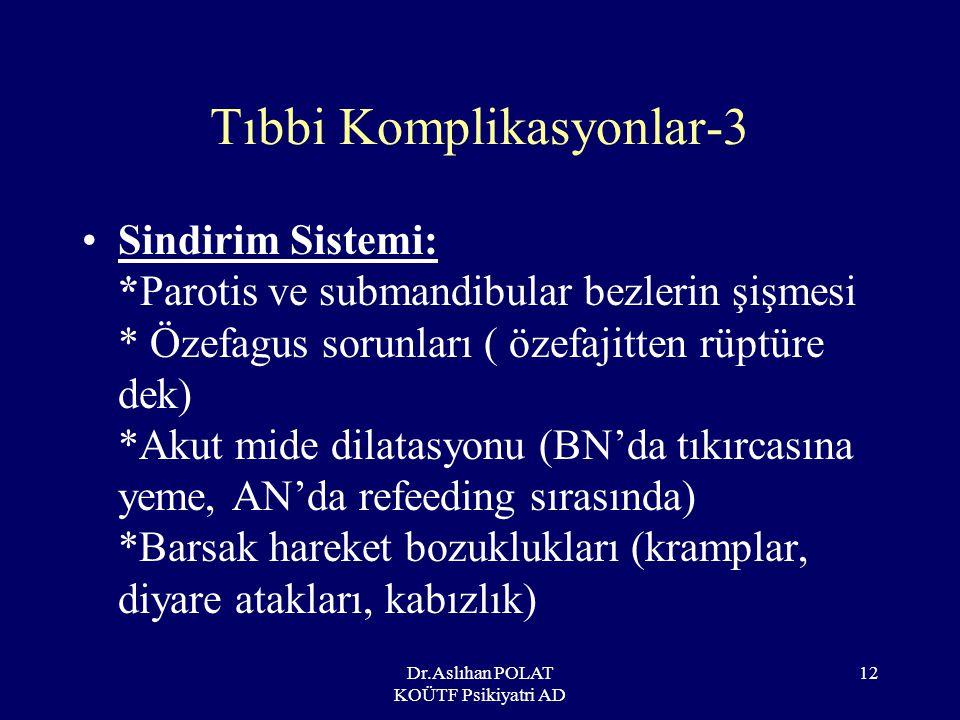 Tıbbi Komplikasyonlar-3