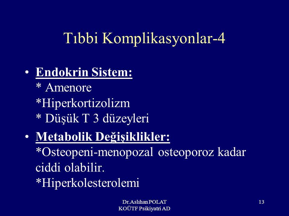 Tıbbi Komplikasyonlar-4