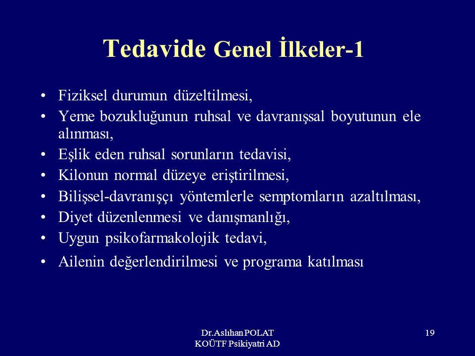 Tedavide Genel İlkeler-1