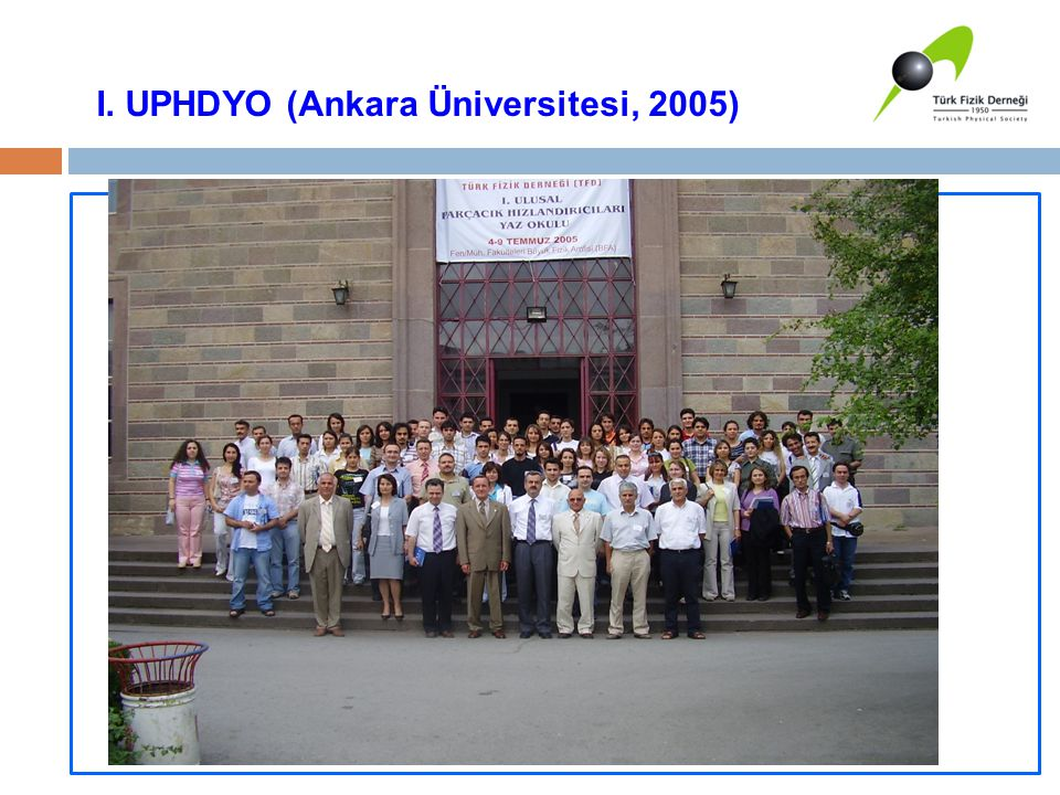 I. UPHDYO (Ankara Üniversitesi, 2005)