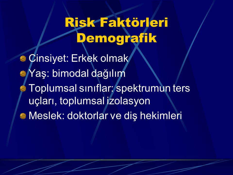 Risk Faktörleri Demografik
