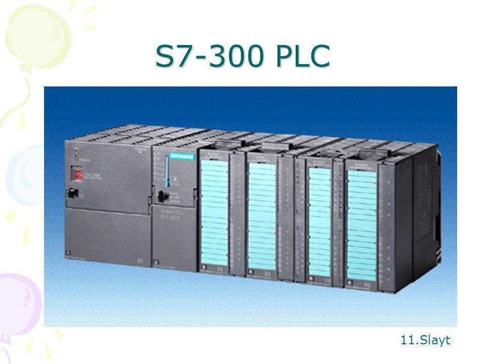 S7-300 PLC 11.Slayt
