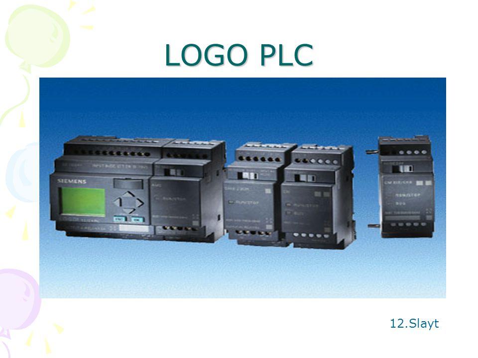 LOGO PLC 12.Slayt