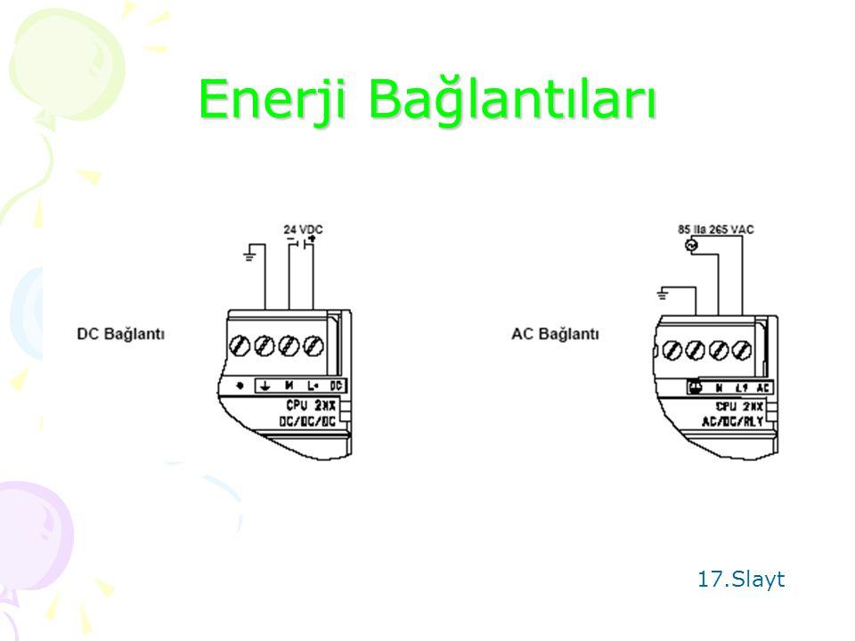 Enerji Bağlantıları 17.Slayt