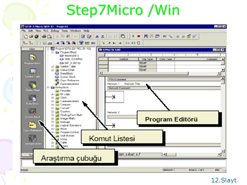 Step7Micro /Win 12.Slayt