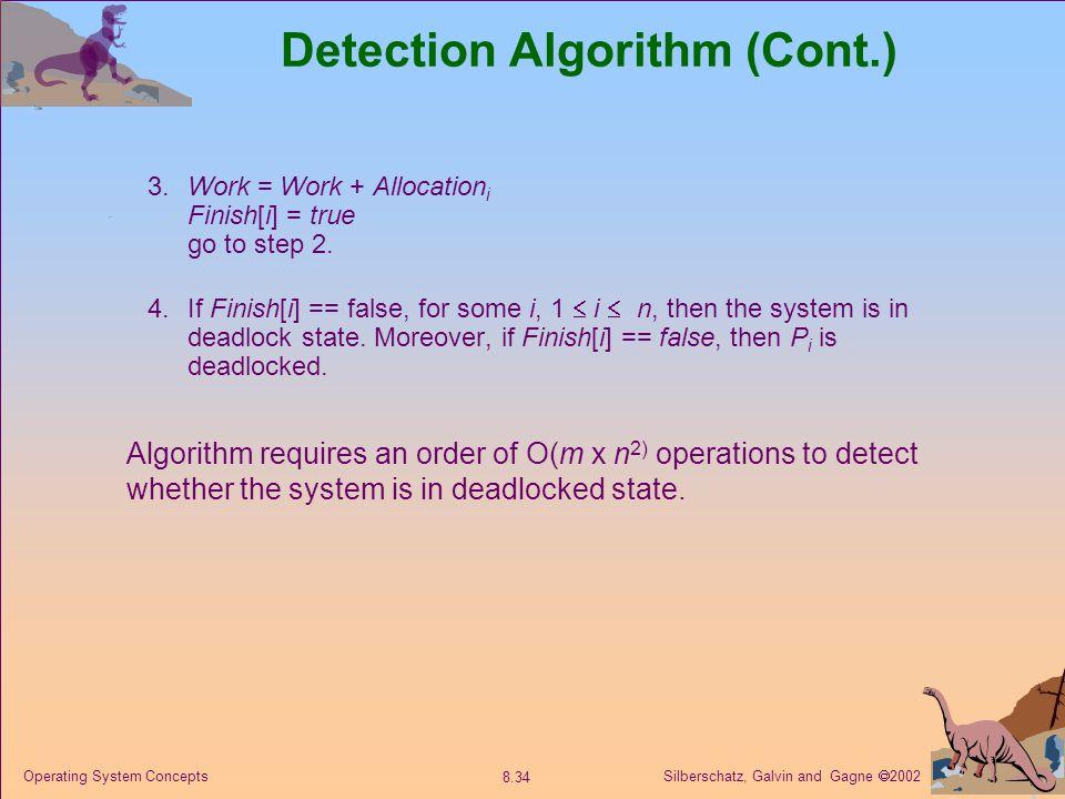 Detection Algorithm (Cont.)