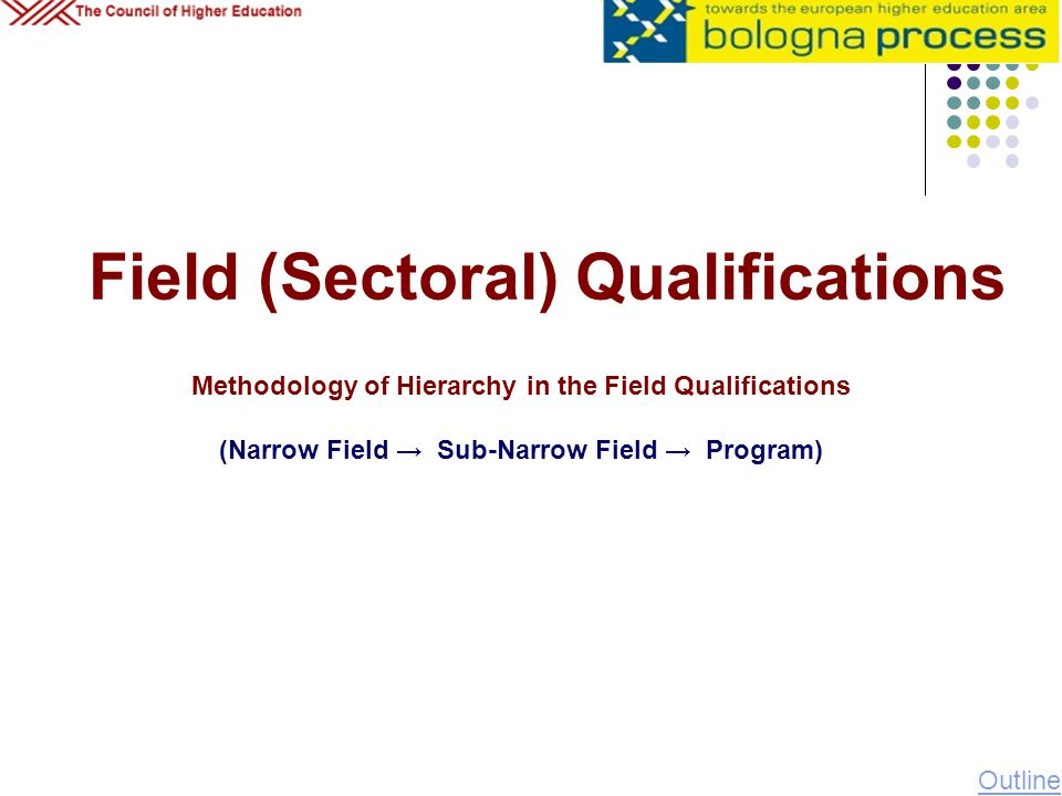 Field (Sectoral) Qualifications
