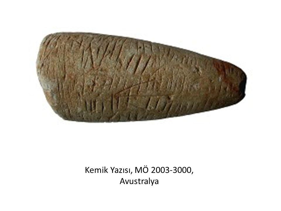 Kemik Yazısı, MÖ 2003-3000, Avustralya
