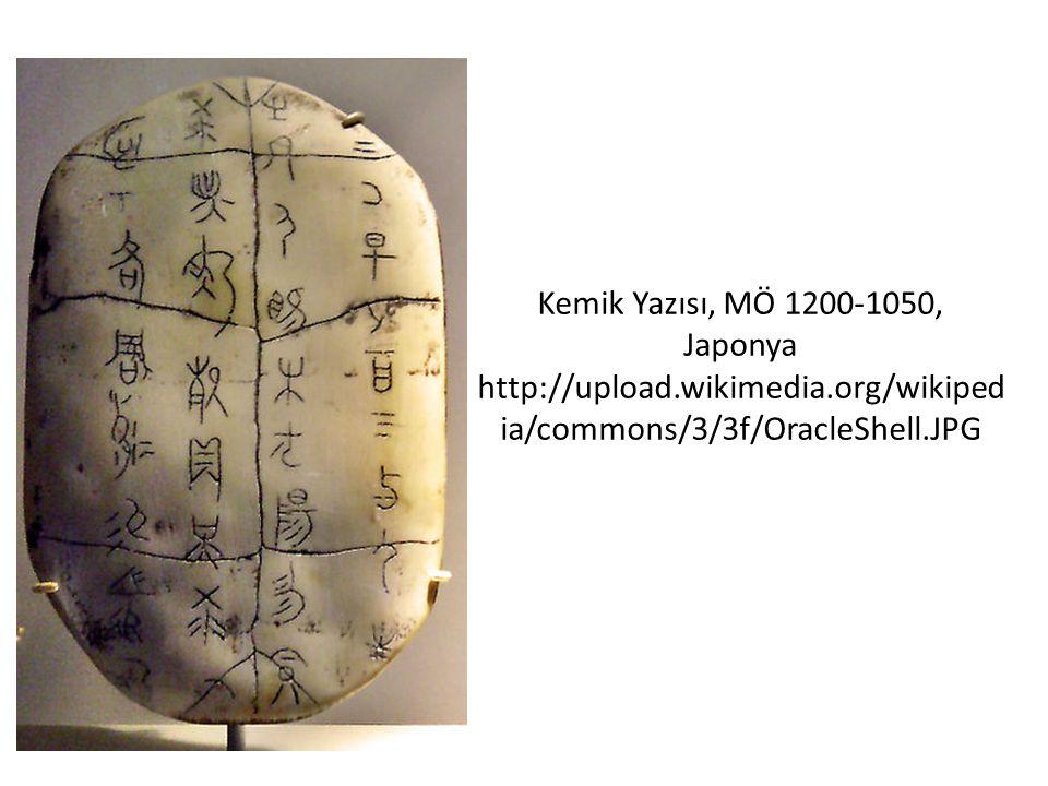 Kemik Yazısı, MÖ 1200-1050, Japonya