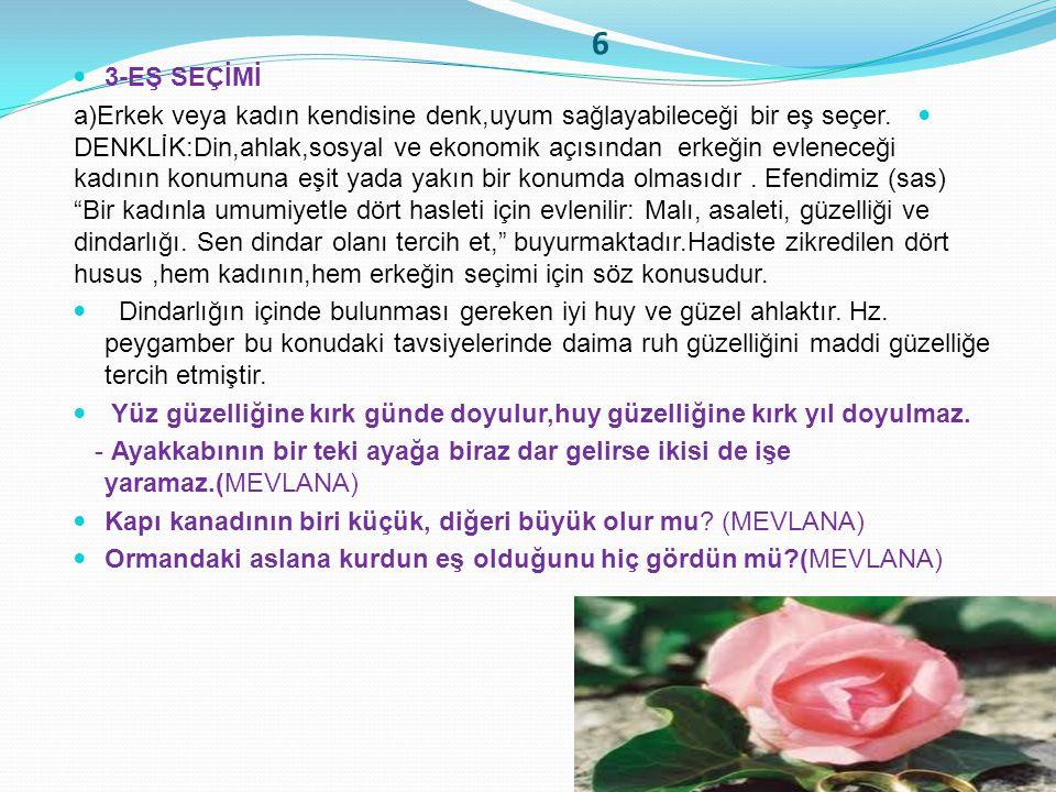 6 3-EŞ SEÇİMİ.