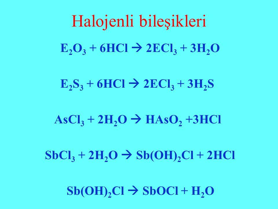 Halojenli bileşikleri