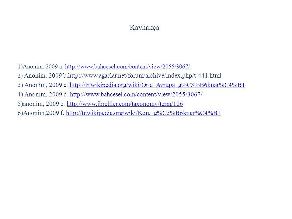 Kaynakça 1)Anonim, 2009 a. http://www.bahcesel.com/content/view/2055/3067/