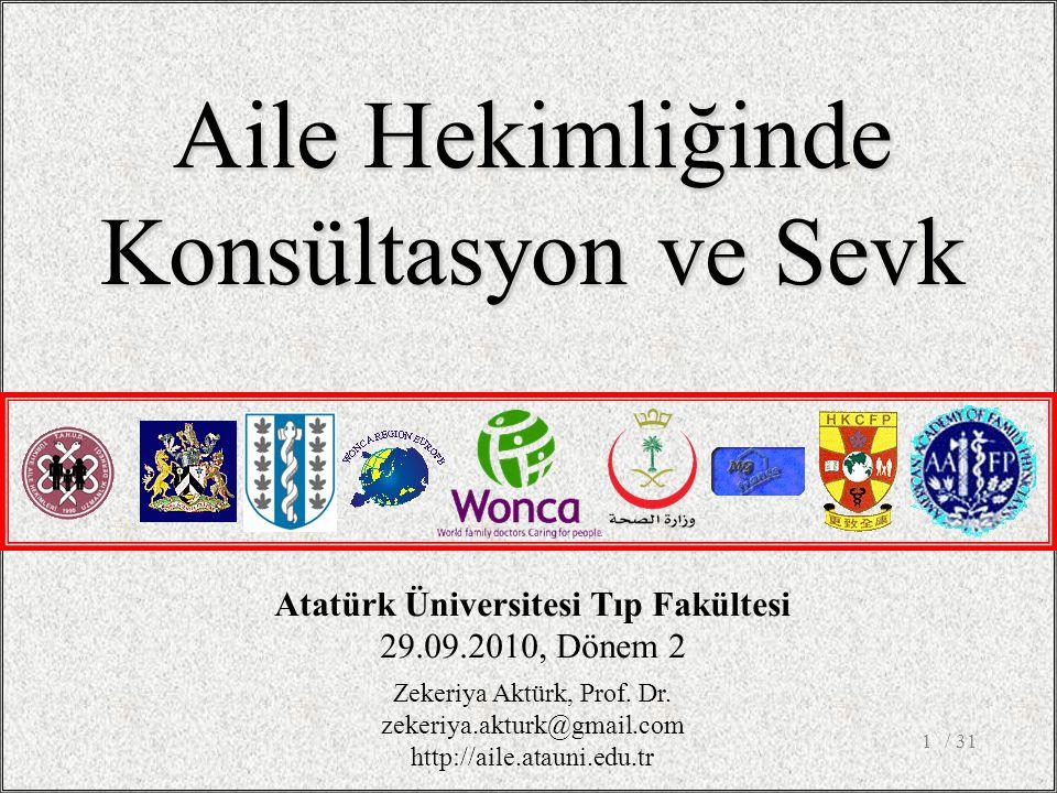 Atatürk Üniversitesi Tıp Fakültesi
