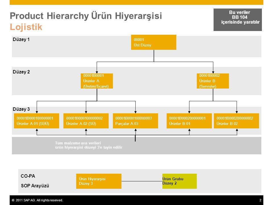 Product Hierarchy Ürün Hiyerarşisi Lojistik