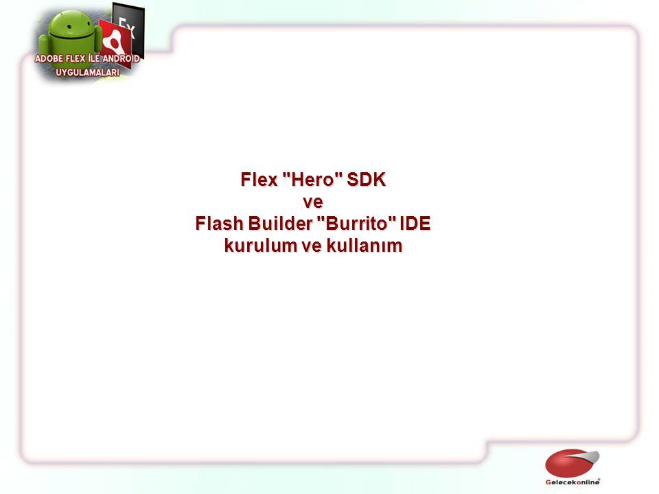 Flash Builder Burrito IDE