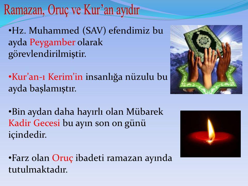 Ramazan, Oruç ve Kur'an ayıdır