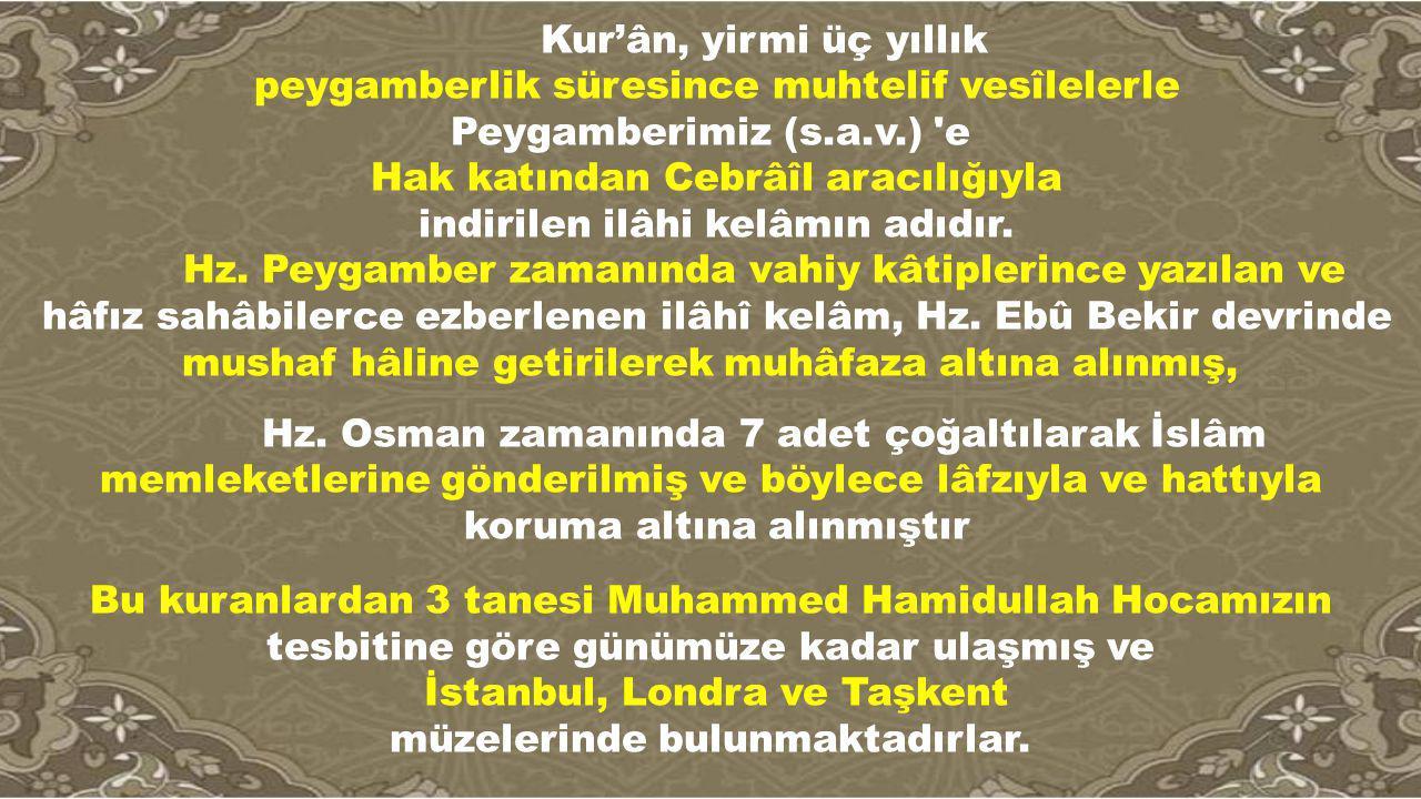 İstanbul, Londra ve Taşkent müzelerinde bulunmaktadırlar.