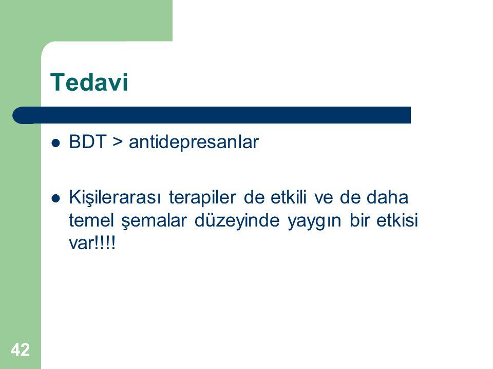Tedavi BDT > antidepresanlar