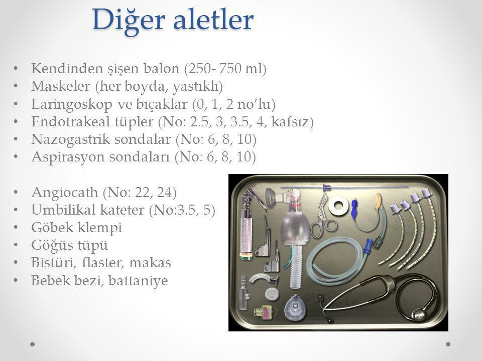 Diğer aletler Kendinden şişen balon (250- 750 ml)