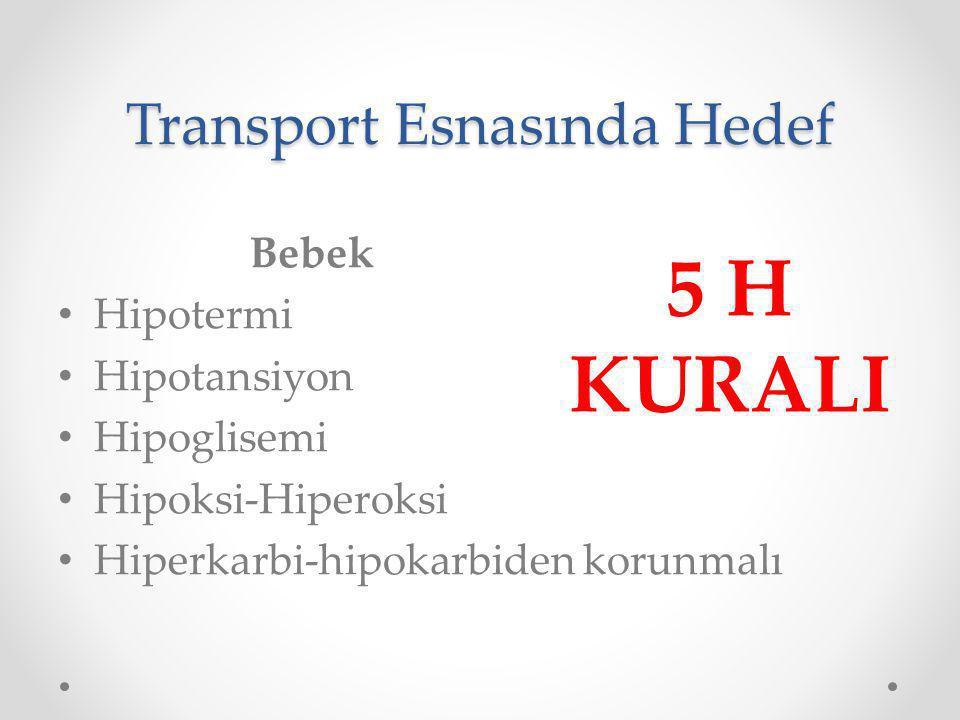 Transport Esnasında Hedef
