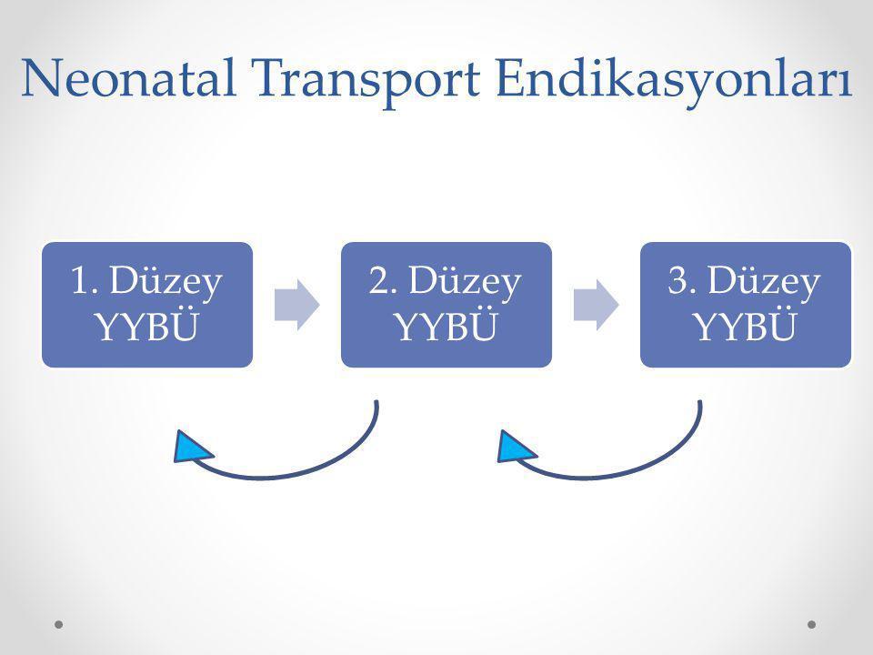 Neonatal Transport Endikasyonları