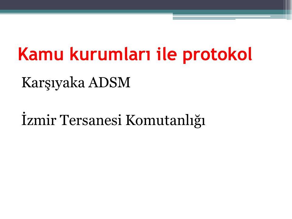 Kamu kurumları ile protokol