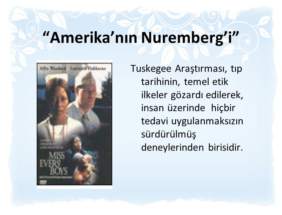 Amerika'nın Nuremberg'i