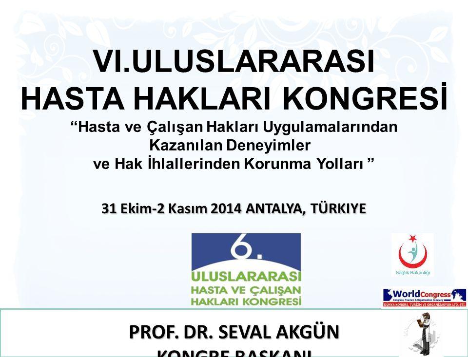 31 Ekim-2 Kasım 2014 ANTALYA, TÜRKIYE