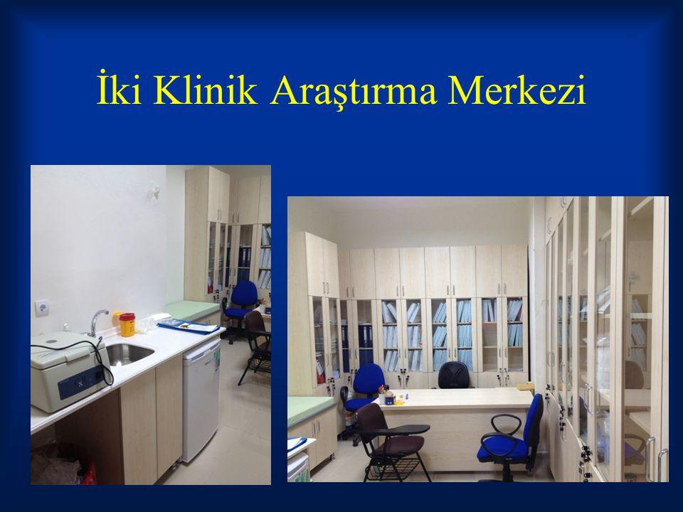 İki Klinik Araştırma Merkezi