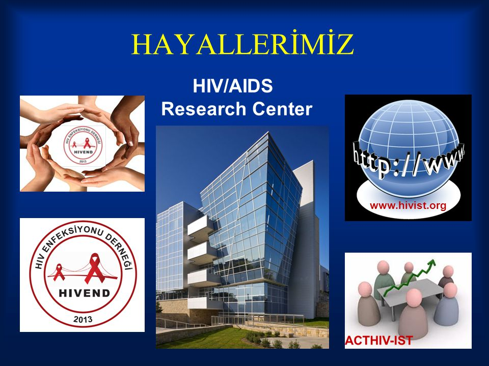 HAYALLERİMİZ HIV/AIDS Research Center www.hivist.org