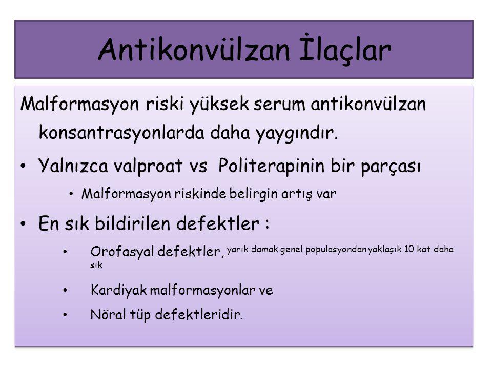 Antikonvülzan İlaçlar