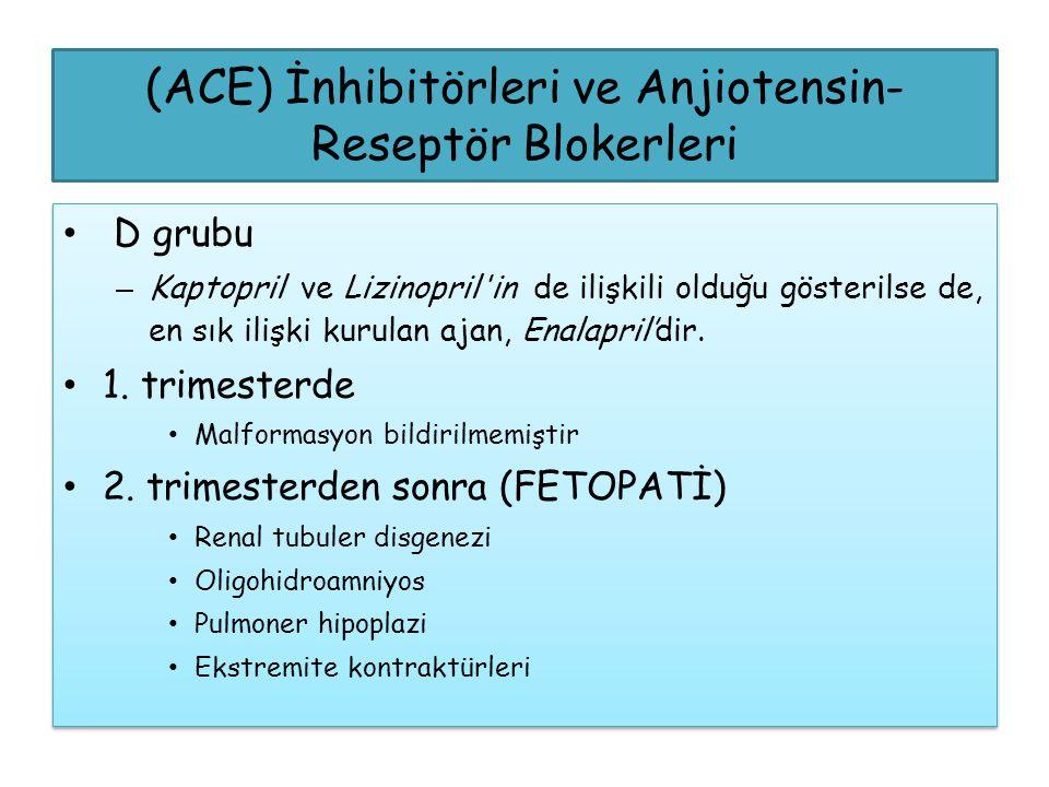 (ACE) İnhibitörleri ve Anjiotensin-Reseptör Blokerleri
