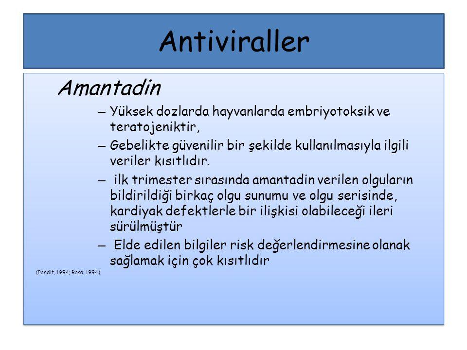Antiviraller Amantadin