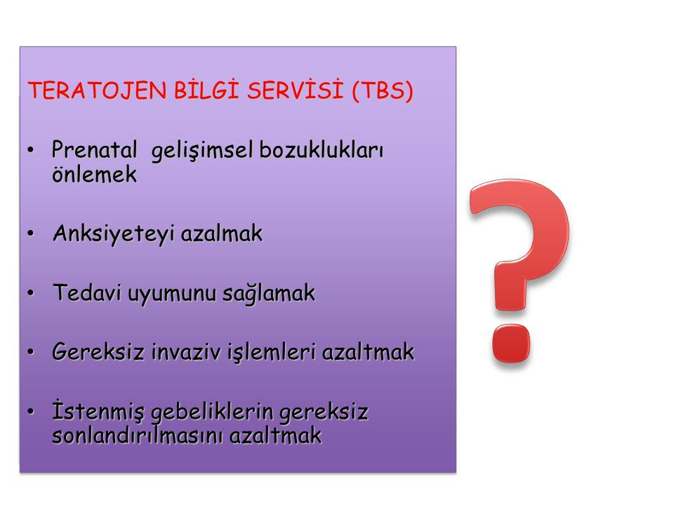 TERATOJEN BİLGİ SERVİSİ (TBS)