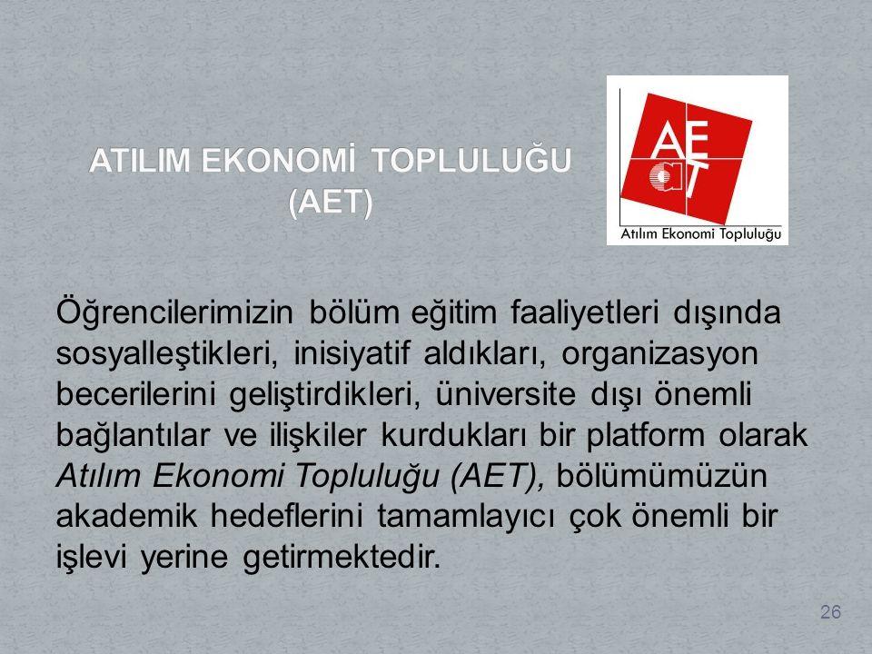 ATILIM EKONOMİ TOPLULUĞU (AET)