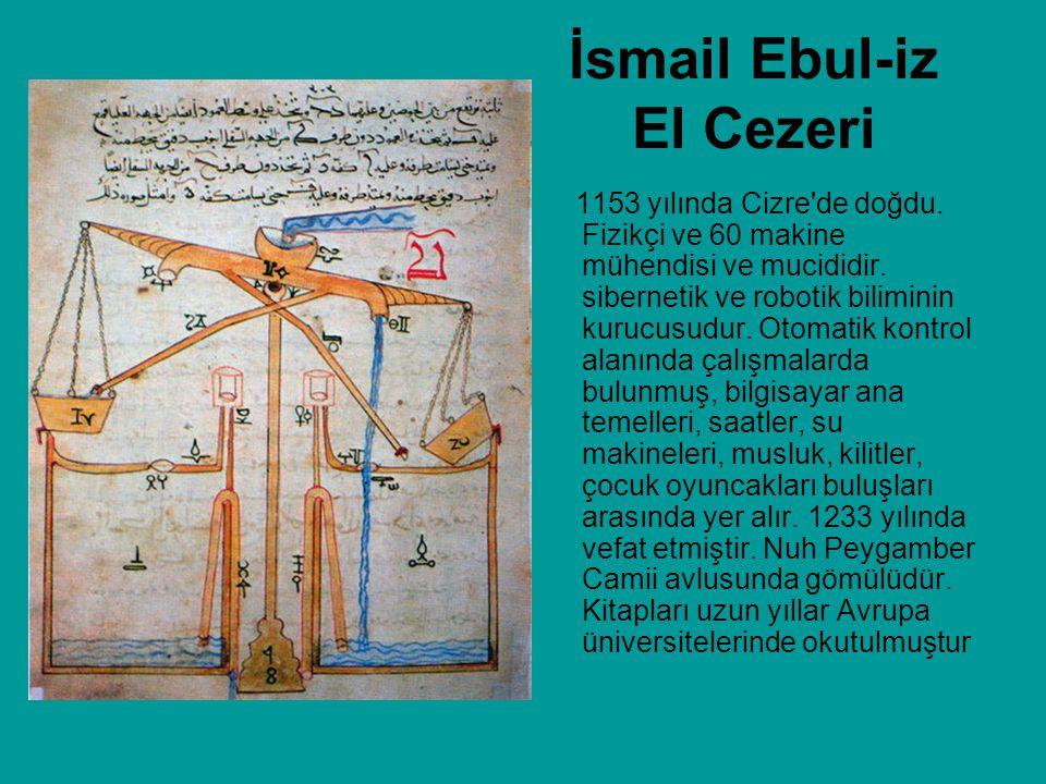 İsmail Ebul-iz El Cezeri
