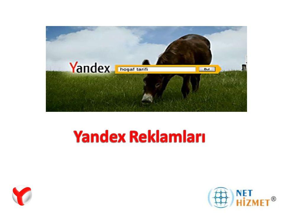 Yandex Reklamları