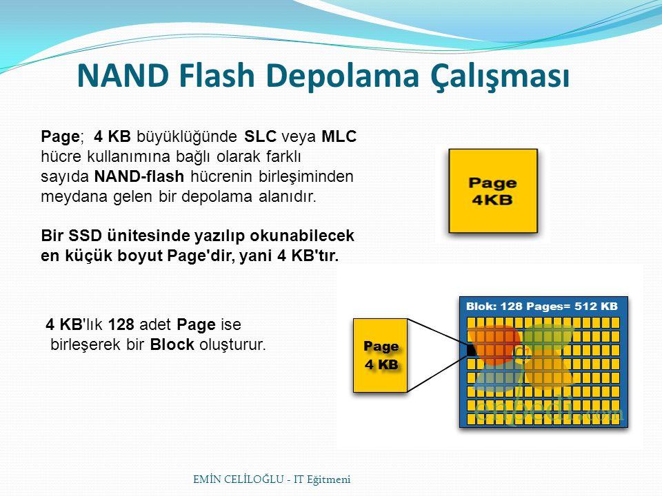 NAND Flash Depolama Çalışması