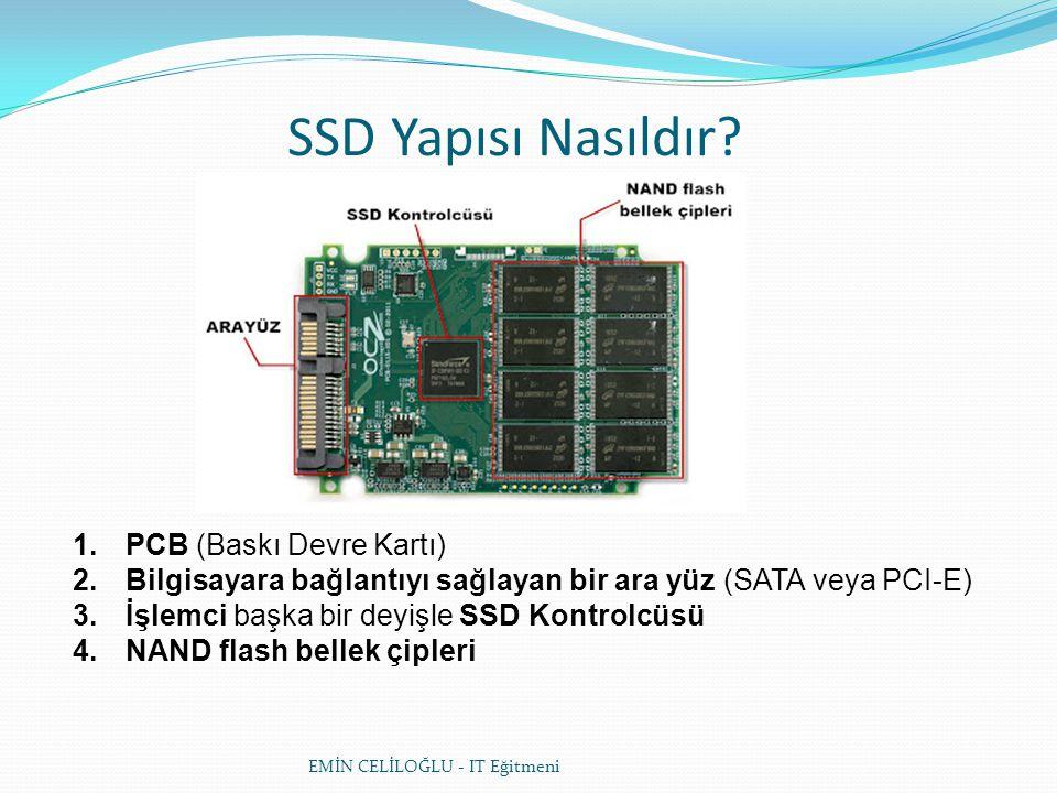 SSD Yapısı Nasıldır PCB (Baskı Devre Kartı)