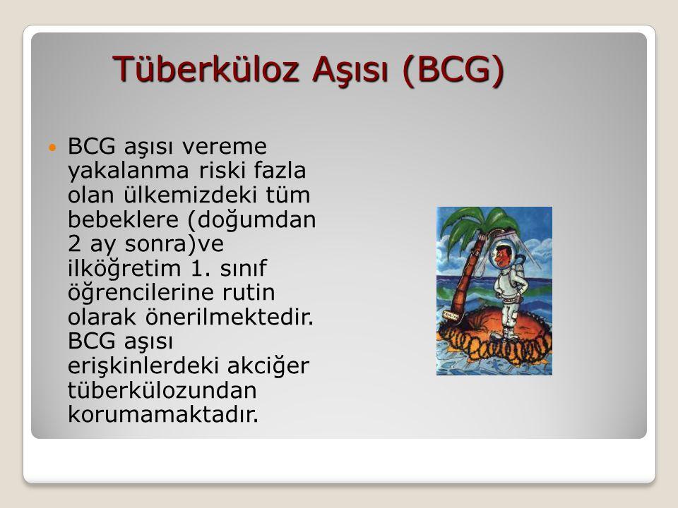 Tüberküloz Aşısı (BCG)