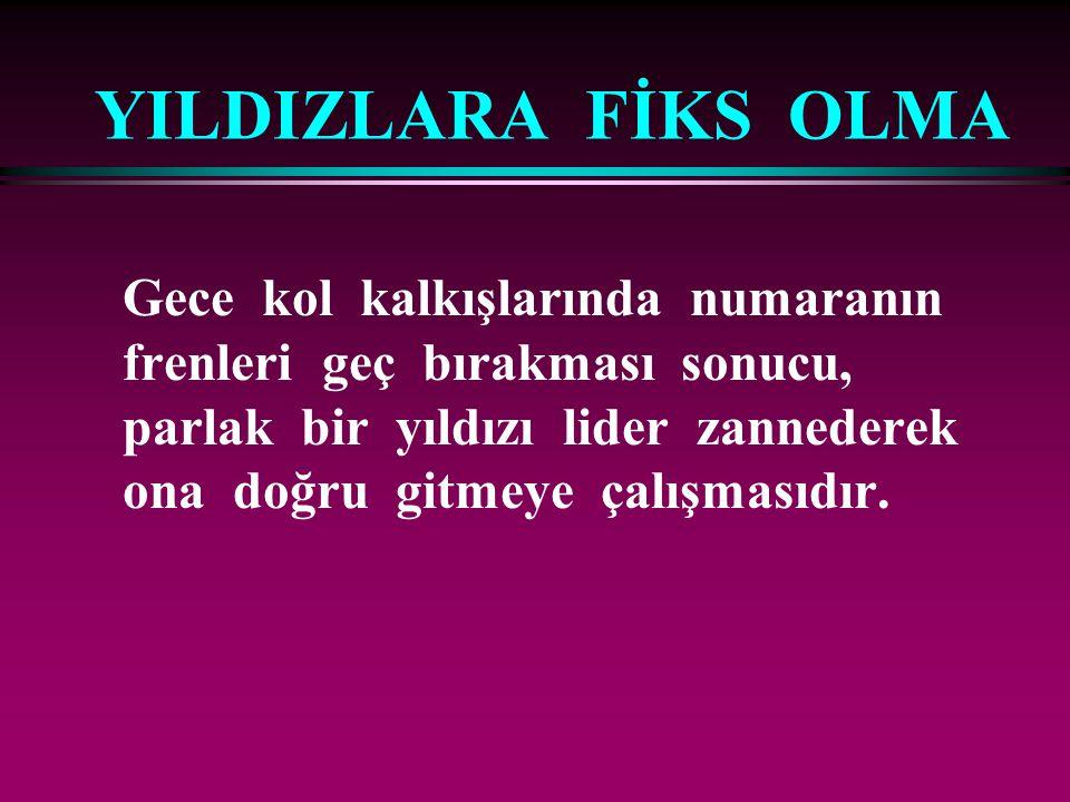 YILDIZLARA FİKS OLMA