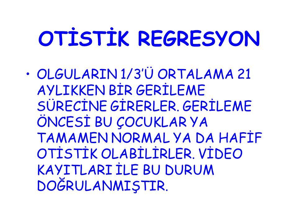 OTİSTİK REGRESYON