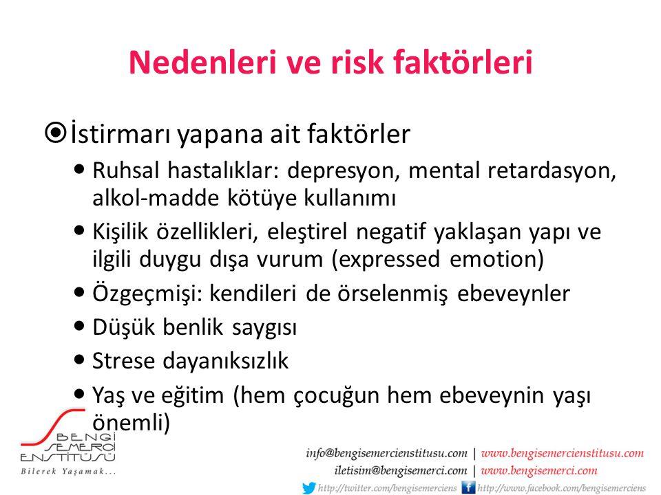 Nedenleri ve risk faktörleri