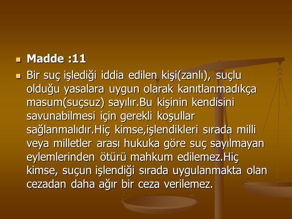 Madde :11