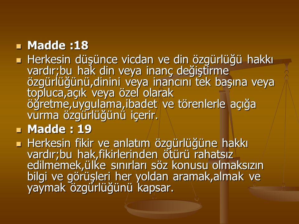 Madde :18
