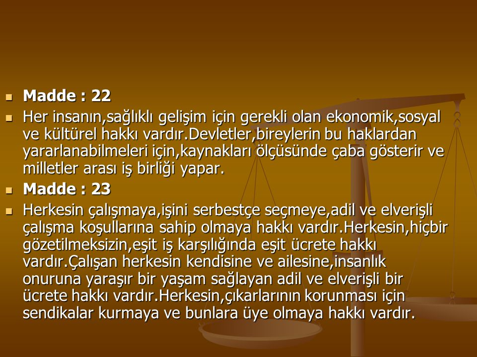 Madde : 22