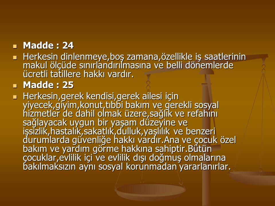 Madde : 24