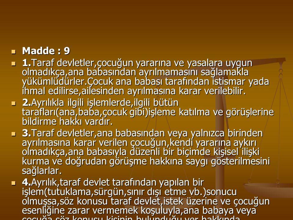 Madde : 9