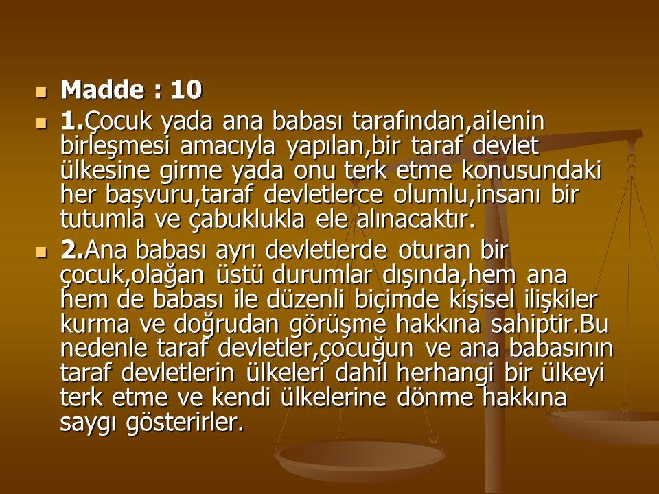 Madde : 10