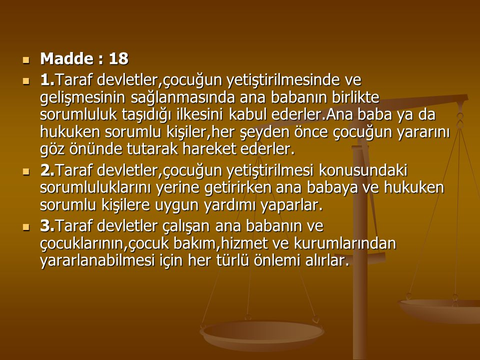 Madde : 18